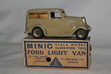 1930's Triang Minic Ford Light Van with Original Box
