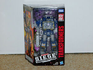 2018 Transformers Generations Siege War for Cybertron Trilogy Soundwave MIB New