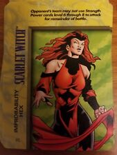 WHY NOT JUST RED 4 X SCARLET WITCH SCARLET 34 Deadpool Dice Masters
