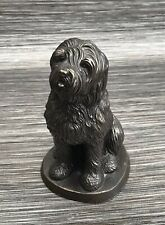 More details for cold cast bronze old english sheepdog figurine beautiful