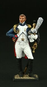 Tin soldier, Collectible Colonel of Dragoons of the Life Guard 54 mm, Napoleonic