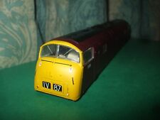 BACHMANN BR CLASS 42 WARSHIP RED LOCO BODY ONLY -CAMBRIAN