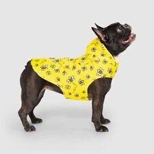 New listing New Dog Puppy Pick Me Honey Bee Print Yellow Poncho Rain Coat