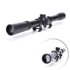 4X20 Telescopic Scope Sight Mounting Rifle Airgun Gun For Hunting  FO