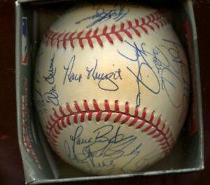 1997 Cincinnati Reds Team Signed ONL Coleman Baseball 30+ Signatures
