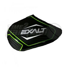 Exalt Paintball Tank Cover - Black / Lime / White - Small Fits 45ci-50ci Rubber