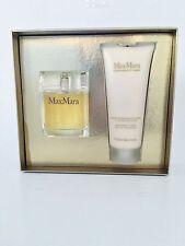 MaxMara Eau De Parfum Spray 2.4 oz /70 ml + Firming Body Cream Boxed Gift Set