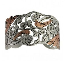 Montana Silversmiths - Autumn Vines Cuff Bracelet - ( BC1229 ) -