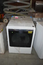 "Maytag Medb835Dw 29"" White Front Load Electric Dryer Nob #31556 Hrt"