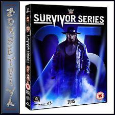 WWE: SURVIVOR SERIES 2015  *BRAND NEW DVD ***