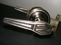 Mid century modern MCM Atomic door knobs levers Weslock U.S.A. hardware