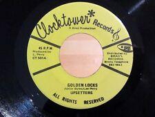 Reggae 45 UPSETTERS Golden Locks / Silver Locks CLOCKTOWER 501 NM/NM-