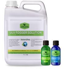 50 Gal Kit! Desinfectante Fog Spray Safer Cleaner Ulv Fogger Concentrate Virusan