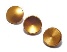 De alta calidad de metal Conjunto de liberación del obturador botón suave plana/Cóncavo/Convexo oro