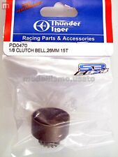 Thunder Tiger PD0470 Campana Embrague 26mm 15T 1/8 Clutch Bell modelado