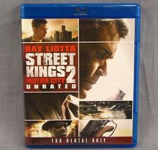 Street Kings 2: Motor City Blu-Ray Ray Liotta Unrated Detroit Detective
