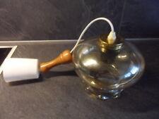 Lampe Hängelampe Pendelleichte Deckenlampe Glas  irisierend Rund