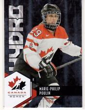 MARIE-PHILIP POULIN 15/16 Upper Deck Women's Team Canada Juniors Hydro 57 Insert