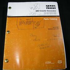 CASE 888 Crawler Excavator Parts Manual S/N From 74163 -74418 15201-15324 OEM