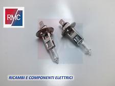 Kit Lampade Lampadine H1 12V 100W Per Luci Abbaglianti Fendinebbia Auto Moto