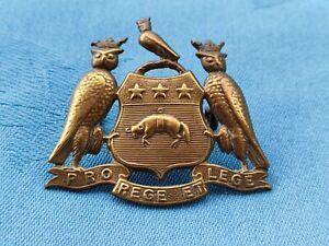 The 15th Battalion (Leeds Rifles ) West Yorkshire Regiment cap badge.