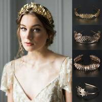 Crowns Leaves Hair Bands Hair Hoop Wedding Hair Accessories Bride Headbands