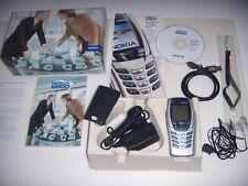 Nokia 6800 Silver Edition Original 2003 No Brand + Box and Accessories Complete