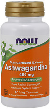 Ashwaganda 4.5 Pct. Extract Now Foods 90 VCaps