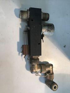 Dow Key Coaxial Relay Vintage DKC-E Coax Switch 110 VAC Ham Radio