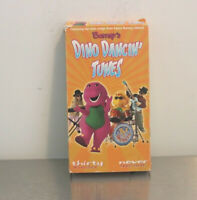 Barney's Dino Dancin' Tunes (VHS, 2001)