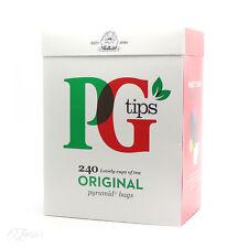 Nuevo PG Tips 240 Original Pirámide Bolsitas De Té