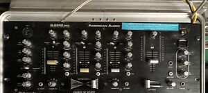 american audio dj mixer Q-2422 MKII
