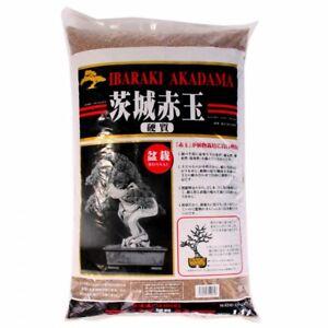 Bonsai-Erde Akadama 1-5 mm Ibaraki hart 4 Liter