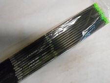 12 Easton Axis Carbon 5mm 400 9.0GPI Arrow Shafts & HIT Inserts! WILL CUT LENGTH