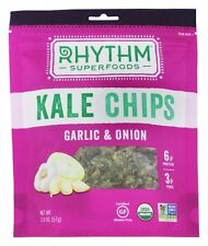 Rhythm Superfoods - Organic Kale Chips Spicy Jalapeno - 2 oz.