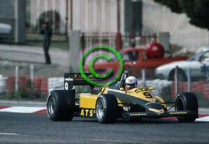 RACING Original 35mm Slide F1 Manfred Winkelhock - ATS BMW 1983 France Formula 1