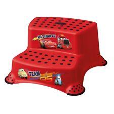Keeeper Cars Schemel 2-stufig Tritthocker Cherry Red NEU