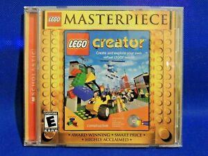 Lego Masterpiece LEGO CREATOR Build your own Virtual Lego World Game PC CD-ROM