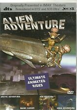 IMAX ALIEN ADVENTURE ULTIMATE ANIMATED RIDES DVD