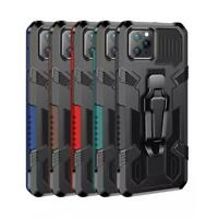 Military Grade Metal Belt Clip Magnetic Case Cover For IPHONE 12 PRO MAX /12 PRO