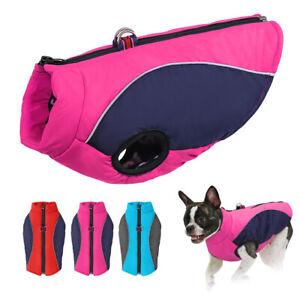 Warm Dog Winter Clothes For Small Dog Waterproof Padded Medium Dog Coat Jacket