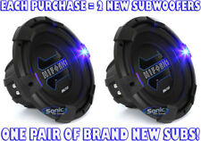"(2) NEW! HIFONICS 1800W 12"" Dual 4 Ohm BRUTUS SERIES Car Subwoofers 