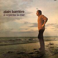 Vinyle-LP-33T : Alain Barrière – A Regarder La Mer - Barclay –
