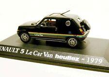 """1/43 - UH - RENAULT 5 / R5  """" LE CAR  """" VAN HEULIEZ 1979"""