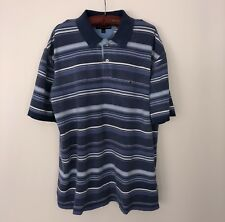 Sale!! Tommy Hilfiger Polo Shirt Striped 100% Cotton Size 2XLG