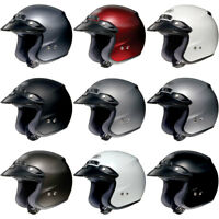Shoei RJ Platinum-R 3/4 Open Face Motorcycle Touring Helmet -Pick Size/Color