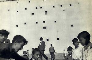 1952 Henri Cartier Bresson Children's Playground Madrid Spain Art Photo