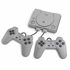 Sony PlayStation Classic Video Game Console - Gray with 20 Preloaded Games