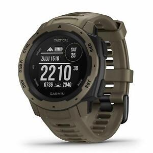 Garmin Instinct Tactical Tan GPS Watch 010-02064-71