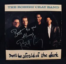 THE ROBERT CRAY BAND-Autographed DON'T BE AFRAID OF THE DARK Album-Blues Guitar